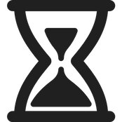 hour glass logo